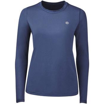 Textil Mulher T-shirt mangas compridas Dublin Pearl Marinha