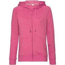 Textil Mulher Sweats Russell J284F Pink Marl