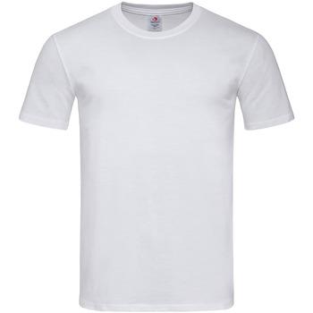 Textil Homem T-Shirt mangas curtas Stedman  Branco