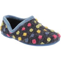 Sapatos Mulher Chinelos Sleepers  Azul Claro/Multi