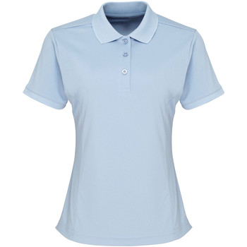 Textil Mulher Polos mangas curta Premier PR616 Azul claro