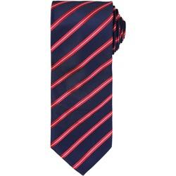 Textil Homem Gravatas e acessórios Premier Formal Marinha/ Vermelho