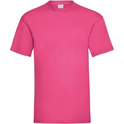 Textil Homem T-Shirt mangas curtas Universal Textiles 61036 Rosa Quente