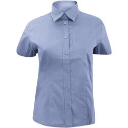 Textil Mulher camisas Kustom Kit KK719 Azul claro