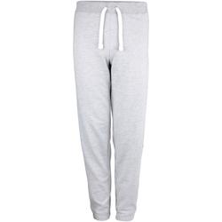 Textil Mulher Calças de treino Awdis JH076 Heather Grey