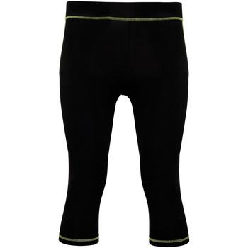Textil Mulher Collants Tridri Tri Dri Preto/ Verde Relâmpago