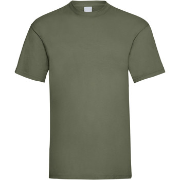 Textil Homem T-Shirt mangas curtas Universal Textiles 61036 Verde oliva