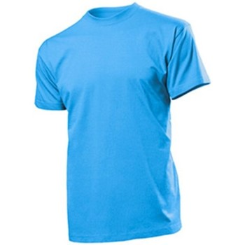Textil Homem T-Shirt mangas curtas Stedman  Azul claro