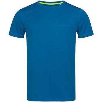 Textil Homem T-Shirt mangas curtas Stedman Mesh Rei Azul