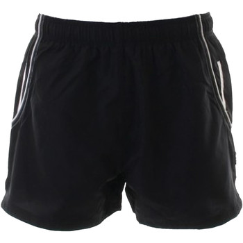 Textil Homem Shorts / Bermudas Gamegear KK924 Preto / Branco