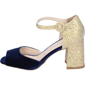 Sapatos Mulher Sandálias Olga Rubini BP571 Azul