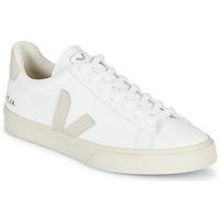 Sapatos Sapatilhas Veja CAMPO Branco / Cinza