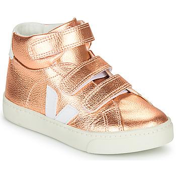 Sapatos Rapariga Sapatilhas de cano-alto Veja SMALL-ESPLAR-MID Rosa
