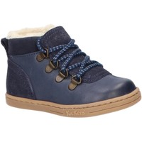 Sapatos Rapaz Botas de neve Kickers 735780-10 TATTOO Azul