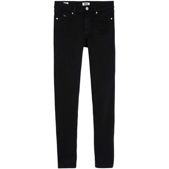 Textil Mulher Gangas Skinny Tommy Jeans NORA MID RISE SKINNY ANKLE TMYBK preto