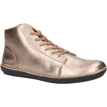 Sapatos Mulher Botins Kickers 734511-50 FOWTOW Plateado