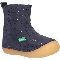 Sapatos Rapariga Botas Kickers 739125-10 SOCOOL Azul