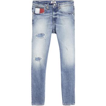 Textil Homem Calças de ganga slim Tommy Jeans - Jeans blu DM0DM07337-1AB BLU