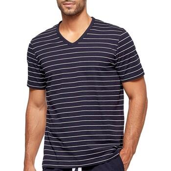 Textil Homem Pijamas / Camisas de dormir Impetus GO41024 039 Azul