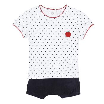 Textil Rapariga Conjunto Absorba ADELE Marinho