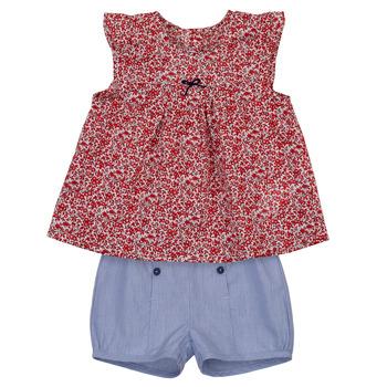 Textil Rapariga Conjunto Absorba LEO Marinho