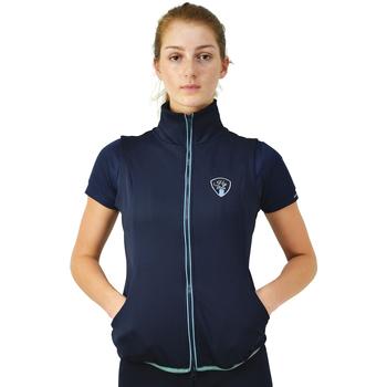 Textil Mulher Casaco polar Hyrider  Azul marinho/Teal