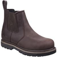 Sapatos Homem Botas baixas Amblers  Brown