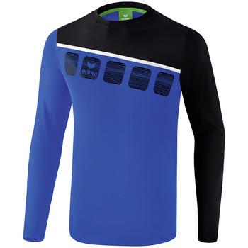 Textil Homem Todos os fatos de treino Erima Haut d'entrainement manches longues  5-C bleu marine/noir/blanc