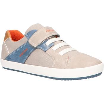Sapatos Criança Sapatilhas Geox J025CB 010FE J GISLI Beige