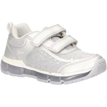 Sapatos Rapariga Sapatilhas Geox J0245B 0ASAJ J ANDROID Plateado