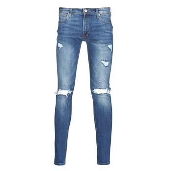 Textil Homem Calças de ganga slim Jack & Jones JJITOM Azul