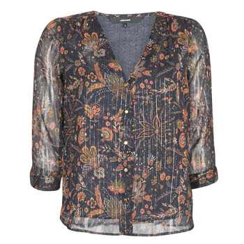 Textil Mulher Tops / Blusas Vero Moda VMGLAMMY Marinho