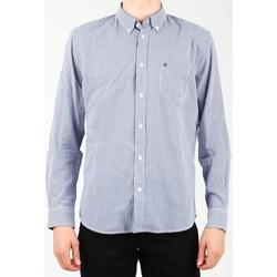 Textil Homem Camisas mangas comprida Wrangler 1 PKT Shirt W5929M8DF blue, white