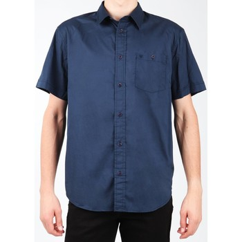 Textil Homem Camisas mangas curtas Wrangler S/S 1PT Shirt W58916S35 granatowy