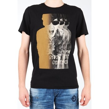 Textil Homem T-Shirt mangas curtas Lee Photo Tee Black L60BAI01 black