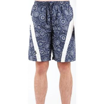 Textil Homem Shorts / Bermudas Zagano 5603-115 granatowy, white