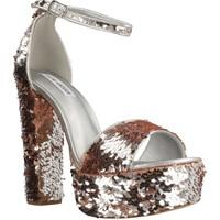Sapatos Mulher Sandálias Steve Madden GONZO1 Silver