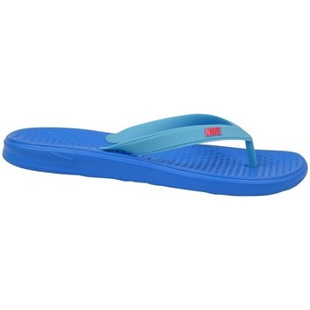 Sapatos Rapaz Chinelos Nike Solay Gsps Azul