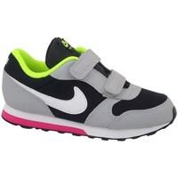 Sapatos Criança Sapatilhas de corrida Nike MD Runner 2 TD Verde claro,Preto,Cinzento
