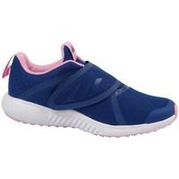 Sapatos Rapariga Sapatilhas de corrida adidas Originals Fortarun X CF K Amarelo,Azul marinho