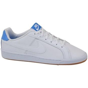 Sapatos Criança Sapatilhas Nike Court Royale GS Branco, Azul