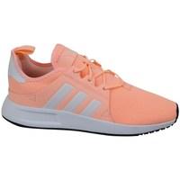 Sapatos Rapariga Sapatilhas adidas Originals X Plr C Cinzento, Cor de laranja