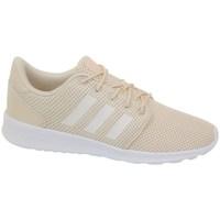 Sapatos Mulher Sapatilhas adidas Originals QT Racer Branco, Cor bege