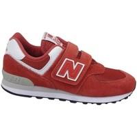 Sapatos Criança Sapatilhas New Balance YV574EC Vermelho