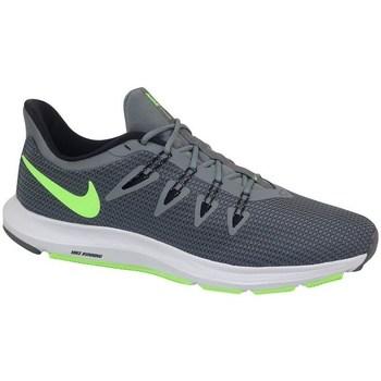 Sapatos Homem Sapatilhas de corrida Nike Quest Branco, Cinzento, Verde claro