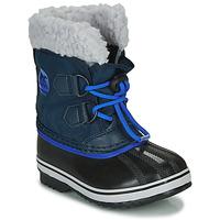 Sapatos Criança Botas de neve Sorel CHILDRENS YOOT PAC NYLON Azul