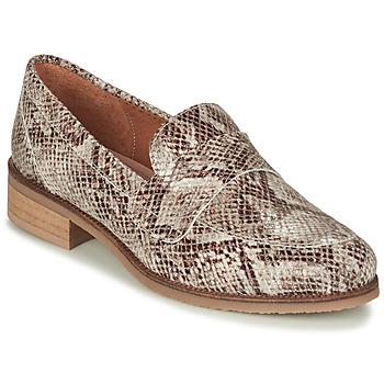Sapatos Mulher Mocassins André BABOUA Bege