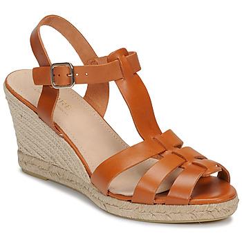 Sapatos Mulher Sandálias André BABORD Conhaque