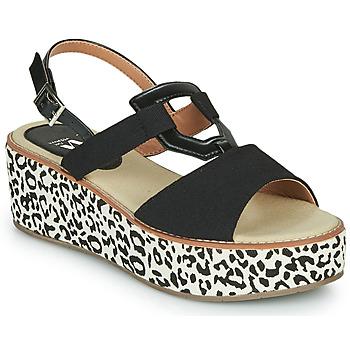 Sapatos Mulher Sandálias Vanessa Wu MIGLOS Preto