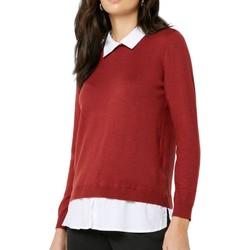 Textil Mulher camisolas Jacqueline De Yong  Castanho